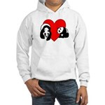 Panda Love Hooded Sweatshirt