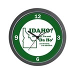 "Not ""Da Ho"" Wall Clock"