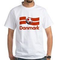 TEAM DANMARK DANISH White T-Shirt