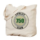 Lifelist Club - 750 Tote Bag