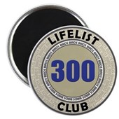 Lifelist Club - 300 Magnet