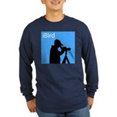 iBird (blue) Long Sleeve Dark T-Shirt