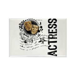 Actress Alchemy of Acting Rectangle Magnet