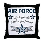Air Force Boyfriend freedom Throw Pillow