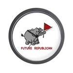 Future Republican Wall Clock