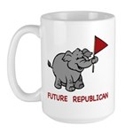 Future Republican Large Mug