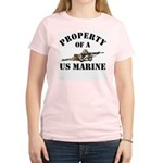 Property of a US Marine Women's Light T-Shirt