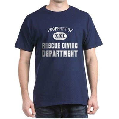 Property of Rescue Diving Dept T-Shirt