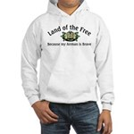 Land of the Free, Airman Hooded Sweatshirt