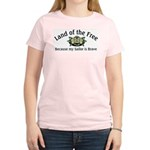 Land of the Free, Sailor Women's Pink T-Shirt