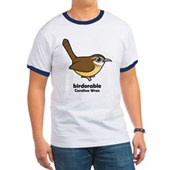 Birdorable Carolina Wren Ringer T