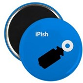  iPish (blue) Magnet