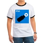  iPish (blue) Ringer T