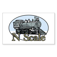 N Scale Sticker (Rectangle)