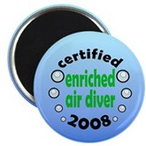 Enriched Air Diver 2008 Magnet