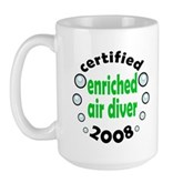 Enriched Air Diver 2008 Large Mug