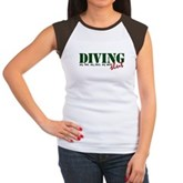 Diving Slut Women's Cap Sleeve T-Shirt