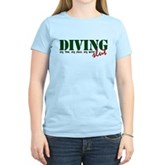 Diving Slut Women's Light T-Shirt