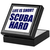 Scuba Hard Keepsake Box