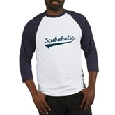  Scubaholic Baseball Jersey
