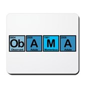 Obama Elements Mousepad