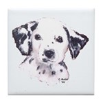 Dalmation Puppy Tile Coaster