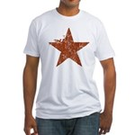 Rusty Star Fitted T-Shirt
