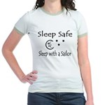 Sleep Safe - Sailor Jr. Ringer T-Shirt