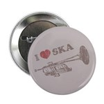 "I Love Ska 2.25"" Button (10 pack)"