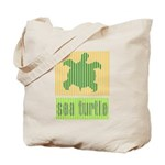 Bar Code Turtle Tote Bag