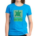Bar Code Turtle Women's Dark T-Shirt