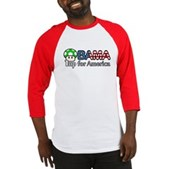Obama 1up for America Baseball Jersey