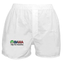 Obama 1up for America Boxer Shorts