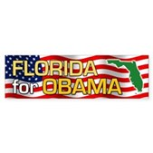 Florida for Obama Bumper Sticker