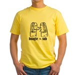 Hoagie vs Sub Yellow T-Shirt