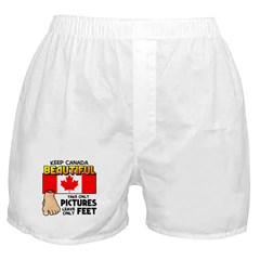 Canada Severed Foot Boxer Shorts