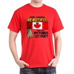 Canada Severed Foot Dark T-Shirt