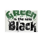 Green is the new Black Rectangle Magnet