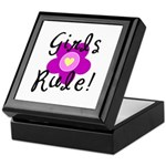 Girls Rule Keepsake Box