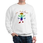 Wrong Planet Alien Sweatshirt