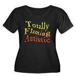 Totally Flaming Autistic Women's Plus Size Scoop N