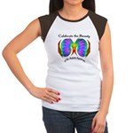 Celebrate Autistic Spectrum Women's Cap Sleeve T-S