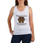 This is a Cat Women's Tank Top