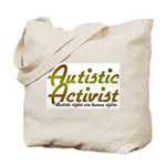 Autistic Activist v2 Tote Bag