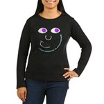 Eye Contact Women's Long Sleeve Dark T-Shirt