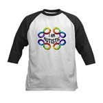 I Am Autistic Kids Baseball Jersey