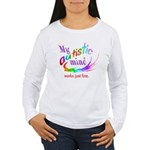 My Autistic Mind Women's Long Sleeve T-Shirt