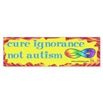 Cure Ignorance Sticker (Bumper)