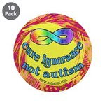 "Cure Ignorance 3.5"" Button (10 pack)"