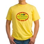 Cure Ignorance Yellow T-Shirt